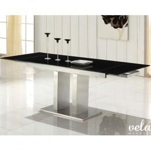 mesa-para-comedor-extensible-cristal-negro