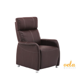 sillon-relax-baratos-polipiel-marron-manual