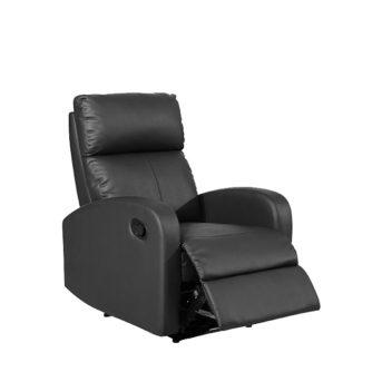 sillon-relax-polipiel-negra-reclinable-manual