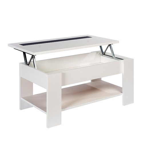 Mesas de centro baratas online blanca de dise o for Mesas diseno online