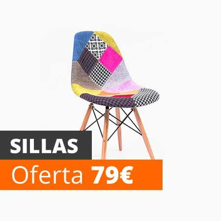 Vela muebles baratos online outlet 1000 muebles low cost for Sillas baratas online
