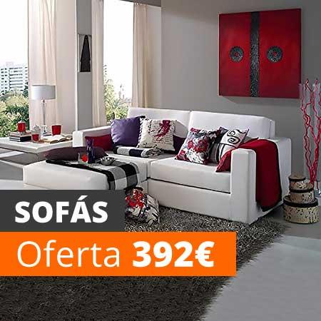 Vela muebles baratos online outlet 1000 muebles low cost - Compra sofas online ...