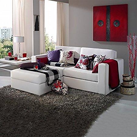 Sofas baratos online sofa cama rinconeras con chaise for Sofas de piel con chaise longue
