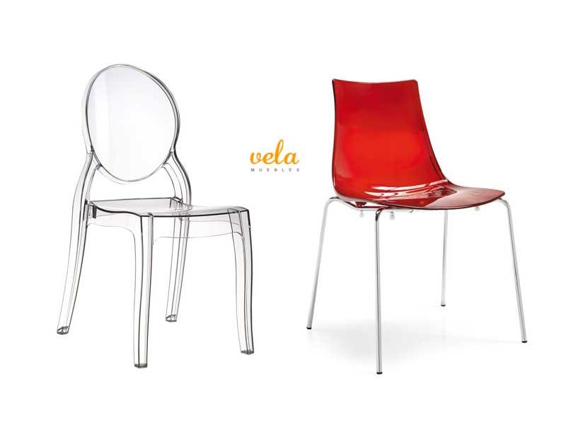 Comprar silla transparentes policarbonato online