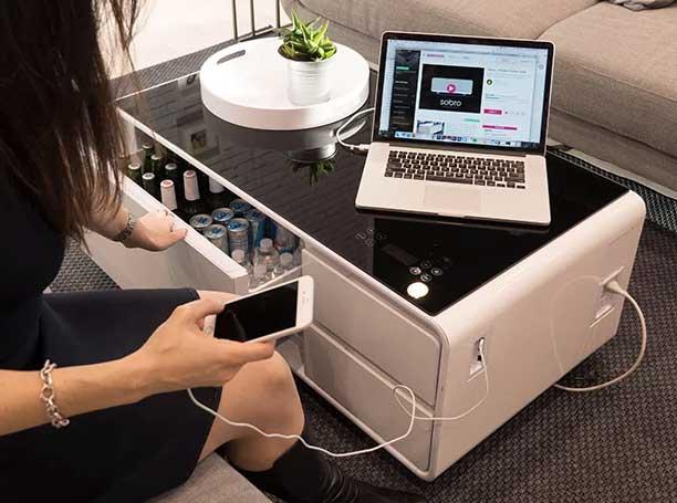 Mesa de centro con Bluetooth