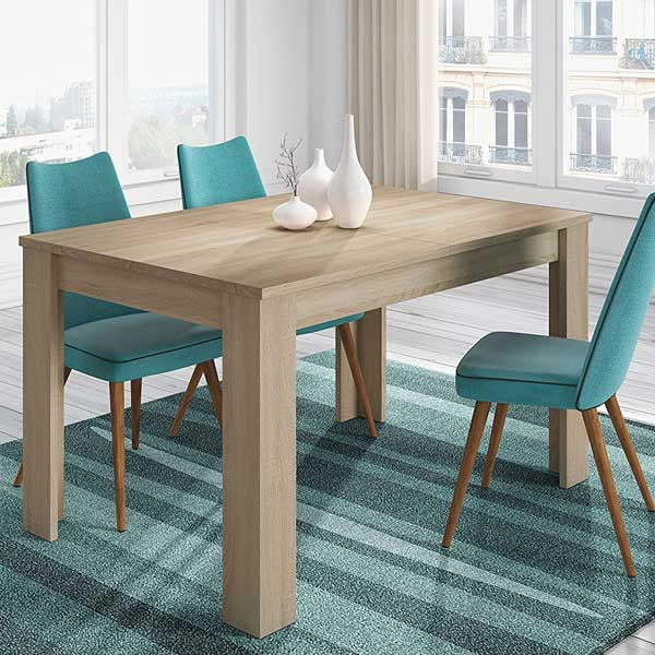 Mesas de comedor online madera cristal extensibles - Mesas de comedor online ...