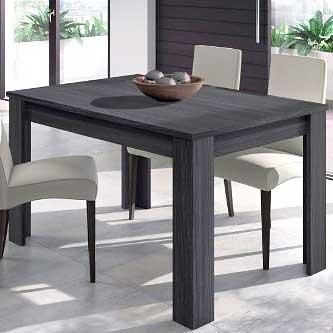 Mesas de comedor online madera cristal extensibles for Mesa comedor extensible gris