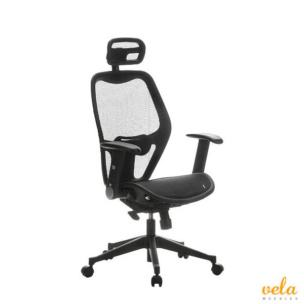 Sillas de oficina online escritorio estudio ergonomica for Soporte lumbar silla oficina