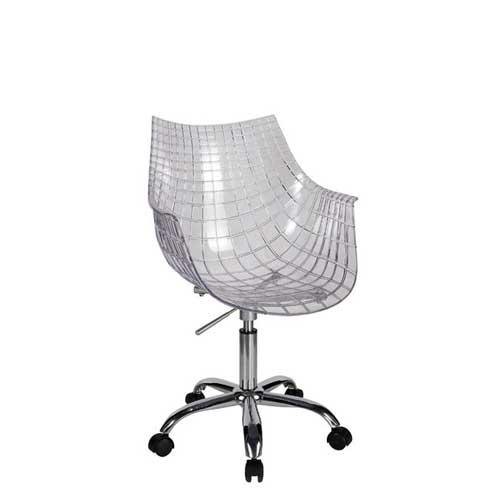 Sillas transparentes baratas eames ghost policarbonato for Sillas giratorias para escritorio