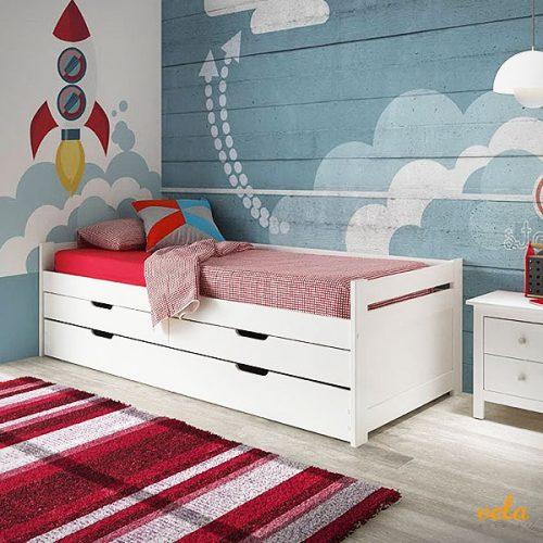 Dormitorios juveniles baratos habitaciones baratas for Camas dobles baratas