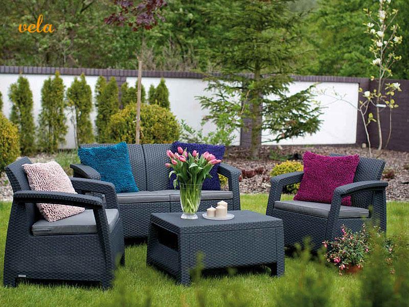 Muebles de jard n y terraza baratos conjuntos mesas y for Conjunto jardin barato
