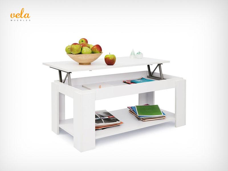 Mesa de centro blanca de venta online