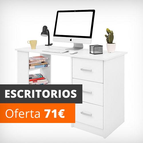 Escritorios oficina, estudio, dormitorio, plegables, con cajones. De venta online