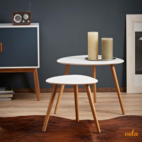 Mesa auxiliar plegable sal n cocina rinconera mesita for Diseno de mesas plegables
