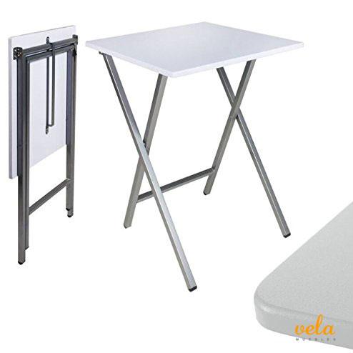 Mesa auxiliar plegable sal n cocina rinconera mesita for Mesa auxiliar cocina con ruedas