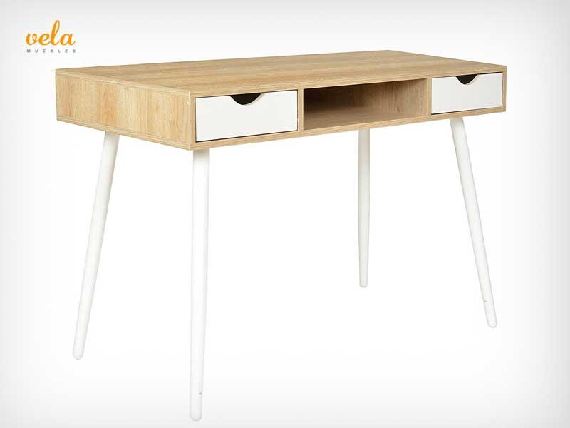 Mesas de escritorio baratas de oficina en l de for Mesa plegable para ordenador