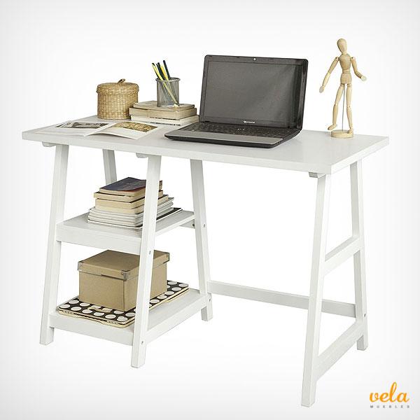 Mesa de escritorio online de oficina en l de ordenador - Mesa de escritorio plegable ...