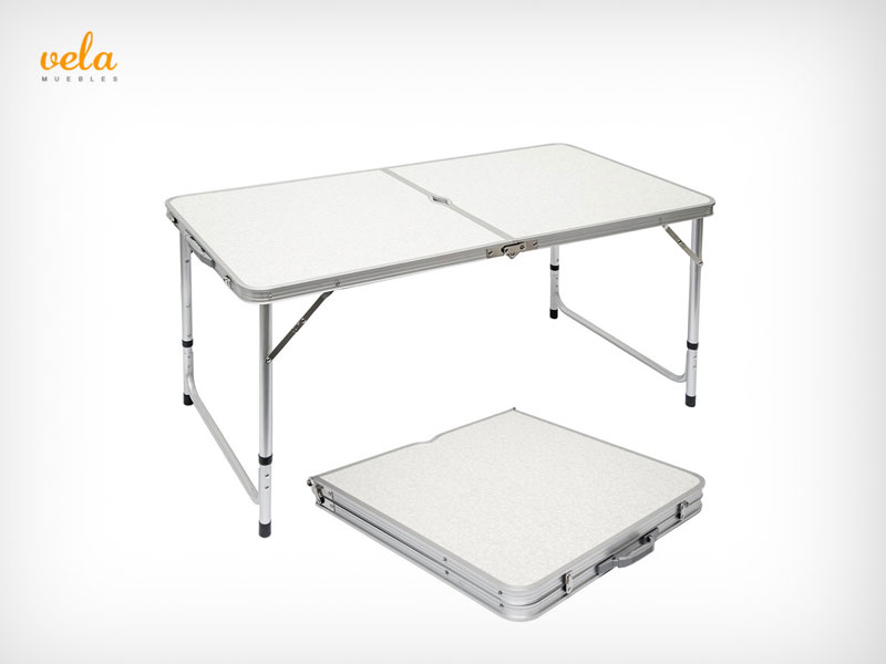 Mesas baratas online plegable de comedor de centro for Mesa plegable maletin