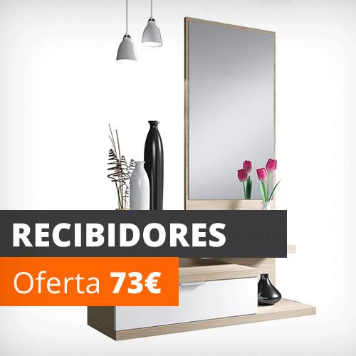 Vela muebles tienda online los 1000 muebles m s baratos for Recibidores economicos