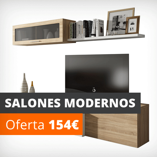 Vela muebles tienda online los 1000 muebles m s baratos - Salones juveniles modernos ...