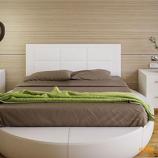 Cabeceros de cama baratos online originales de forja tapizados polipiel - Cabeceros tapizados originales ...