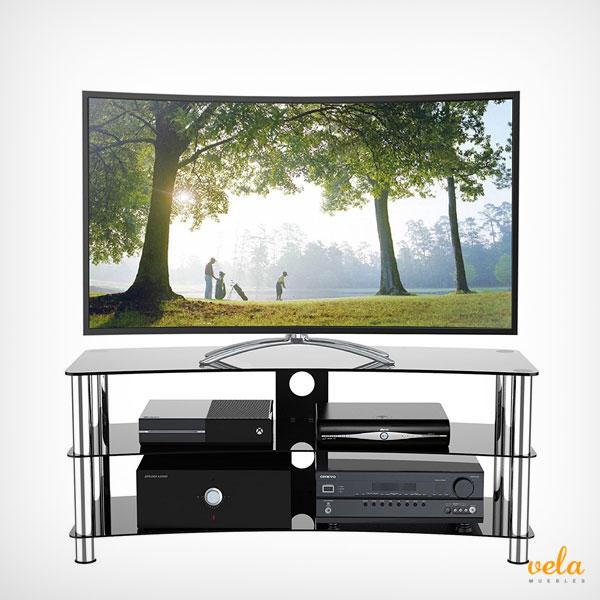 Muebles tv comprar online con ruedas de dise o for Mesa para tv 55 pulgadas