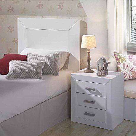 76 cabeceros de cama baratos online originales infantiles - Cabeceros de madera blanco ...