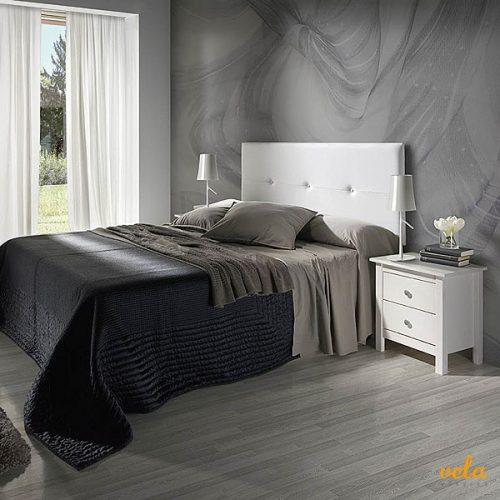 Cabeceros de polipiel baratos cabezal cama blanco - Cabeceros polipiel blanco ...