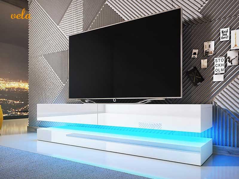 Mueble tv barato online con ruedas de dise o modernos for El mueble online