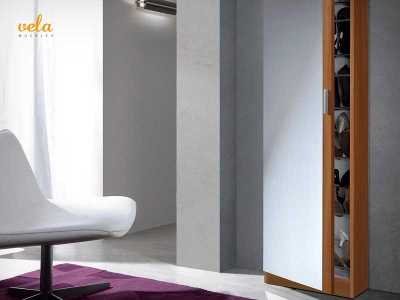 Mueble zapatero baratos online de armario recibidor for Mueble zapatero metalico