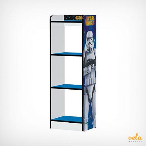 Libreria mueble infantil modelo Star Wars