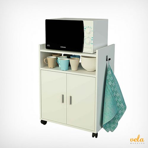 Muebles de cocina baratos online mesas y sillas de for Mueble auxiliar microondas