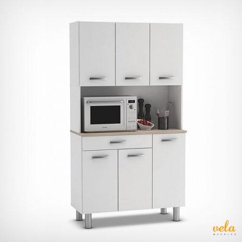 Muebles auxiliares de cocina baratos armarios for Muebles para cocina baratos