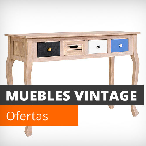 Vela muebles baratos online outlet 1000 muebles low cost for Muebles vintage outlet