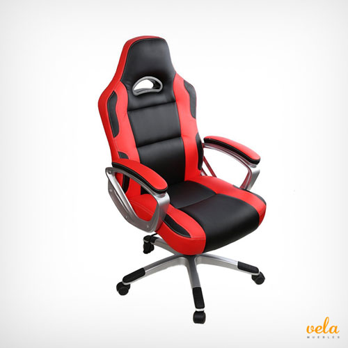 Sillas gaming baratas gamer de ordenador pc for Silla gamer barata