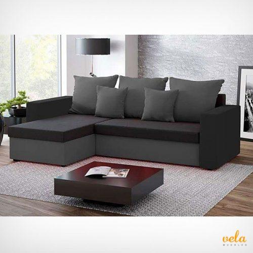 Sof s chaise longue baratos online cheslong cama de for Sofas esquineros baratos