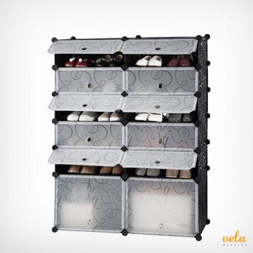 Mueble zapatero baratos online de armario recibidor for Zapateros de plastico baratos