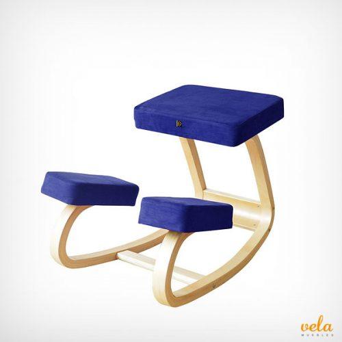 Silla de rodillas sin respaldo de madera haya