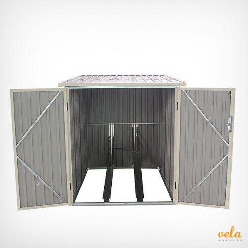 Armario exterior ofertas resina terraza jard n for Armario exterior para guardar bicicletas