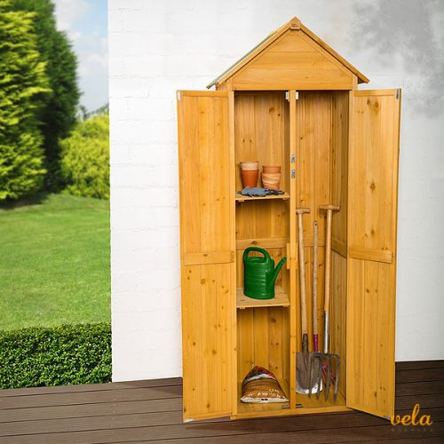 armario de madera exterior