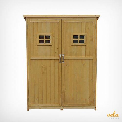 Armario madera exterior