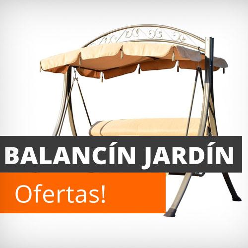Muebles de jard n y terraza baratos conjuntos mesas y for Balancin jardin barato