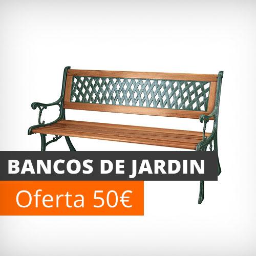 Muebles de jard n y terraza baratos conjuntos mesas y for Bancos jardin baratos