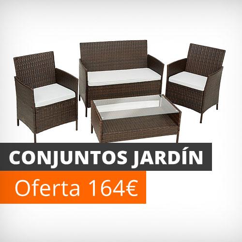 Muebles de jard n y terraza baratos conjuntos mesas y sillas bancos - Sillas jardin baratas ...