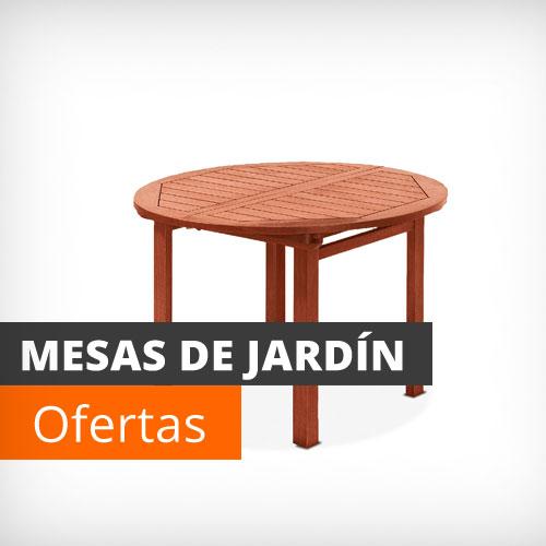 Muebles de jard n y terraza baratos conjuntos mesas y for Muebles de jardin mesas