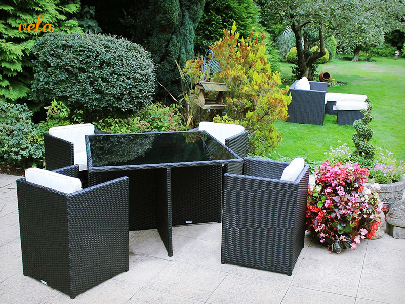 Mesas y sillas de jardin baratas conjuntos de terraza for Mesas y sillas para terraza