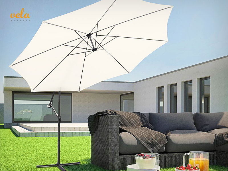 Sombrillas playa y terraza online parasoles para jard n for Sombrillas terraza