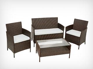 Conjuntos mesas y sillas de jardin