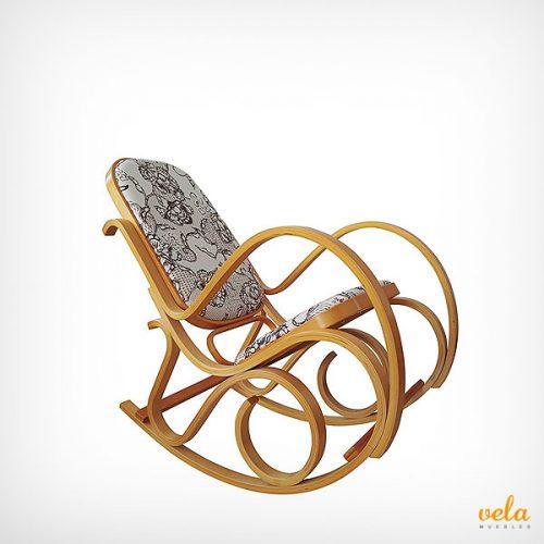 Mecedora Thonet de madera
