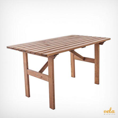 mesas de jardin baratas plegable de pl stico madera
